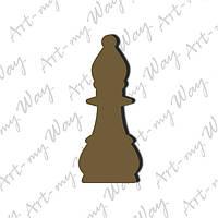 Шахматная фигура -  слон 3см