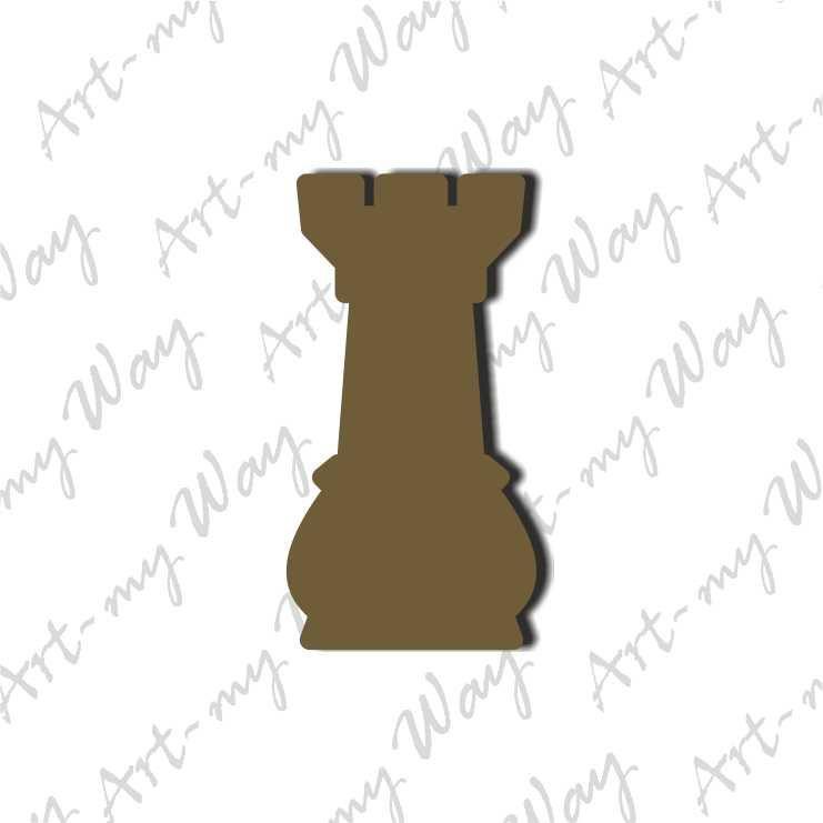 Шахматная фигура -  ладья 5см