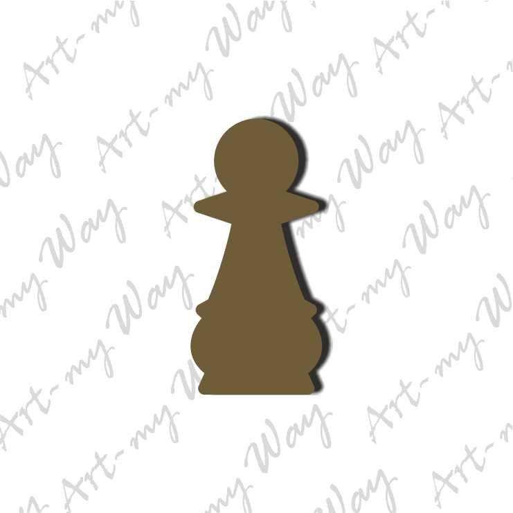 Шахматная фигура - пешка10м