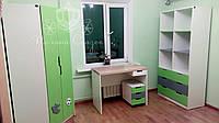 """Подростковая комната """"Футбол"""" из массива ясеня  МДФ и ДСП ."""