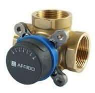 """Трехходовой клапан Afriso ARV382 (3/4"""" DN20, Kvs 6,3) поворотный смесительный"""