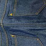 Джинсы на флисе женские стрейч с высокой посадкой . Бр 016, фото 5