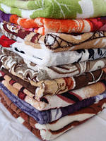 Красивые теплые покрывала, ткань микрофибра. 180 x 200 см., фото 1