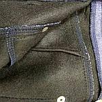 Джинсы на флисе женские стрейч с высокой посадкой . Бр 016, фото 6