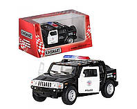 """Машинка KT 5097 WP, """"Hammer Н2 Sut Police"""", металл, инерционная, 13 см, 1:40, резиновые колеса, коллекционная"""