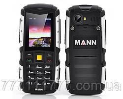 """Ударопрочный мобильный телефон MANN ZUG S black черный IP67 (2SIM) 2"""" 2 Мп оригинал Гарантия!"""