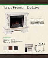 """Камин Tango Premium de Luxe Vista 25"""" FX (слоновая кость с патиной)"""