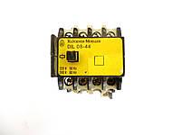 Контактор DIL08-44 10A 2,5kW к.220V~  Moeller Польша