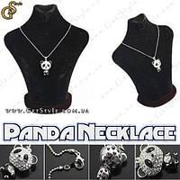 """Украшение на шею - """"Panda Necklace"""" + подарочная упаковка!"""