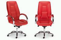 Кресло кожаное для руководителя «Formula steel chrome» LE