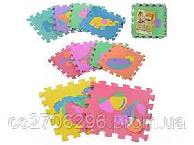 Детский игровой коврик - пазлы