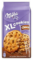 Печенье Milka XL Cookies Choco с кусочками шоколада, 184 г, фото 1