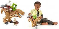 Фигурка большого динозавра Fisher Price Imaginext T Rex.