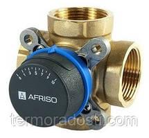 """Afriso ARV 483 (1"""" DN25, Kvs 8,0) четырехходовой смесительный клапан"""