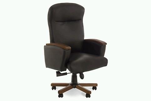 Кресло кожаное для руководителя «Luxus A» LE