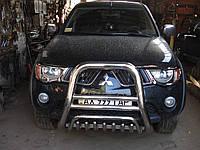 Кенгурятник для Mitsubishi L200