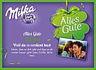 Шоколадні цукерки у коробці Milka Alles Gute з праліне, 110 гр, фото 3