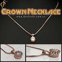 """Украшение на шею - """"Crown Necklace"""" + подарочная упаковка!"""