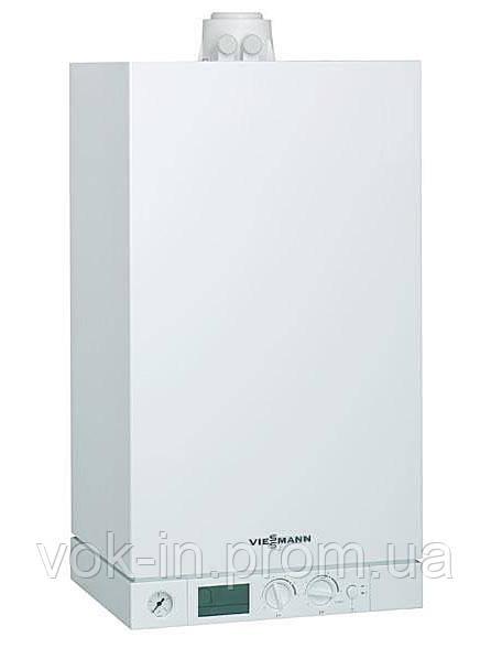 Газовый котел Viessmann VITOPEND 100 23 кВт + комплект труб (турбированный, двухконтурный)