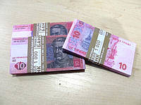 Сувенирные купюры, деньги 10 гривен