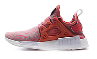 Кроссовки женские Adidas NMD XR1 (red/white) - 07w