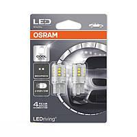 Светодиодная лампа Osram W21/5W LEDriving STANDARD 6000K (2шт), фото 1