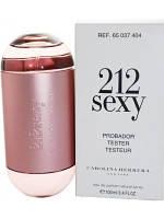 Carolina Herrera  212 Sexy   ТЕСТЕР  100ml  Парфюмированная вода