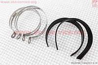 Хомут глушителя и резинка  комплект 2 пары для  4-х тактных скутеров
