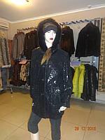 Куртка женская черная с копюшоном