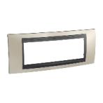 SHNEIDER ELECTRIC UNICA TOP Рамка шестимодульная Матовый никель (Графит)