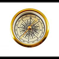 Компас TSC-51: колба 10х50 мм, градуировка шкалы 1°, корпус металл, 16 г