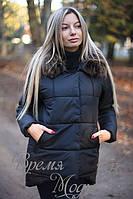 Зимняя куртка пуховик. Чёрная, 5 цветов. Р-ры: S,M,L