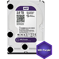 Жесткий диск Western Digital Purple 2TB 64MB WD20PURX 3.5 SATA III