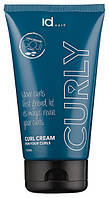 Крем для вьющихся волос оживляющий id HAIR Curly Cream 150 ml