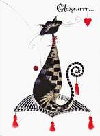 "Папка-конверт Leo ""Glamour cats"" A4"