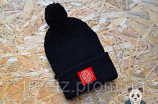 Зимняя шапка с бубоном Stone Island / Стоун Исланд , фото 3