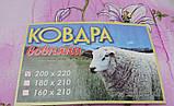 Ковдра (наповнювач вовна) - євророзмір, фото 4