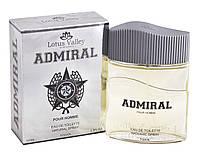Туалетная вода мужская Admiral 100мл т/в муж Lotus Valleylley