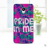 Чехлы для Meizu m2 m2 mini с картинкой pride in me