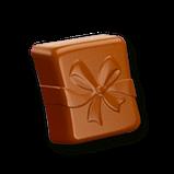 Шоколадные конфеты в коробке Milka Herzlichen Glückwunsch с пралине, 110 гр, фото 4