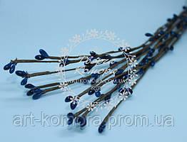 Вербовая веточка синяя, длина 40 см