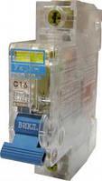 Автоматический выключатель УКРЕМ ВА-2001 1р 16А АсКо (прозрачный корпус) Автоматический выключатель УК корпус)
