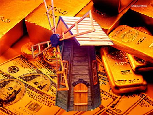 Денежная мельница - приток денег в дом