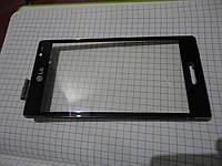 Б.у. оригинал сенсор в рамке для lg p765 p760 l9 p768