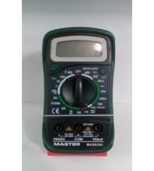 Мультиметр MAS-830L    . e