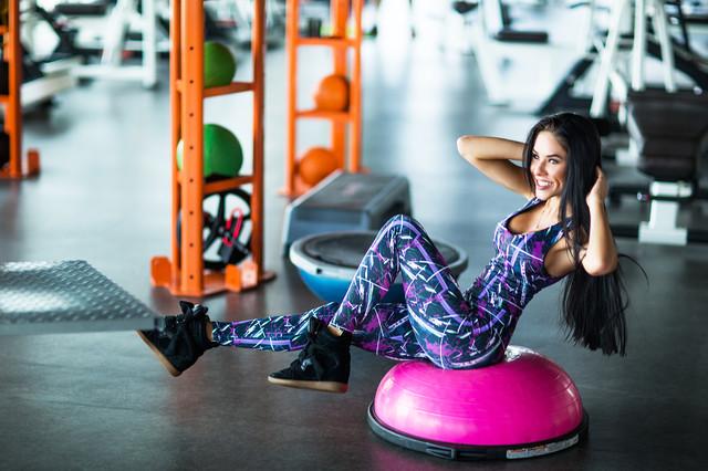 Комбинезон для фитнеса и йоги Designed For Fitness - Abstact Violet. Шоу-рум, доставка по Киеву и Украине, 0987555561