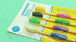 Бамбуковые зубные щетки ( 4 цвета).