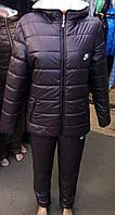 Теплый Спортивный женский костюм на синтепоне(44-46р), доставка по Украине