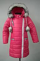 Зимнее пальтишко на девочку, разные цвета. 98, 104, 110,