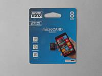 Карта памяти Micro SD 8Gb Class4